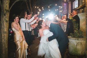 Newly married wedding couple planning tips